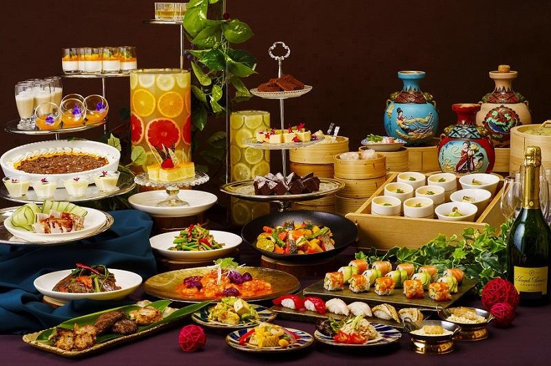 ホテル日航アリビラ、「琉美和華(りゅうびわか)」をテーマに50種類以上の料理提供