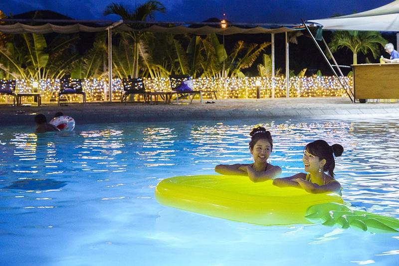 オリエンタルホテル 沖縄リゾート&スパ、宿泊者限定のナイトプール開催!