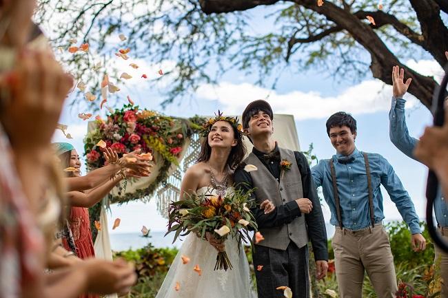 ハワイ_COUTURE NAOCO WEDDING